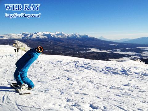 車山高源スキー場 いい景色 ブルー