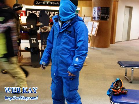 猪苗代ミネロスキー場 福島 スノーボード ブルー