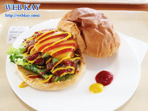猪苗代ミネロスキー場 福島 スノーボード ハンバーガー