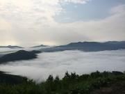 舳先デッキ 星野リゾートトマムの雲海テラス hokkaido tomamu sea of cloud