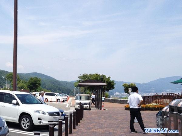 展望デッキ 中央自動車道 諏訪湖SA 上り suwako Service Area Highway ビューポイント