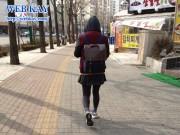 ソウル 人気 ファッション タイツ レギンス スニーカー 運動靴