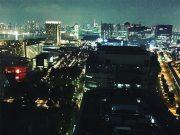 テレコムセンター展望台 お台場 夜景 Telecom center observatory Odaiba Night view