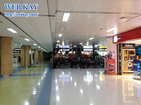 金浦国際空港 キンポ ソウル市内 近い CAFFE TIAMO