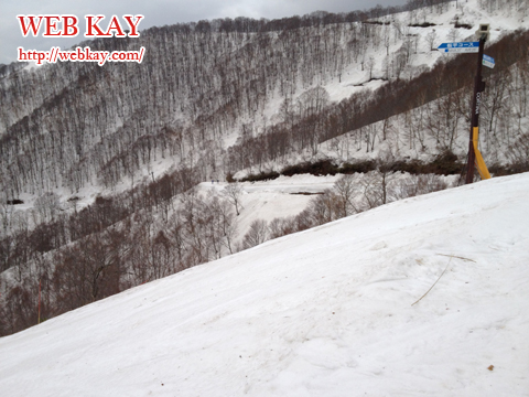白馬 コルチナスキー場 板平コース