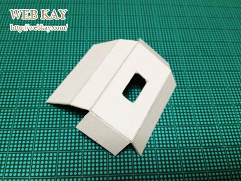 手作り 手づくり 小さい ティッシュ 飾り ティッシュボックス box