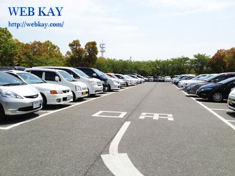 姫路城 白鷺城 世界遺産 兵庫県姫路市 日本100名城 駐車場
