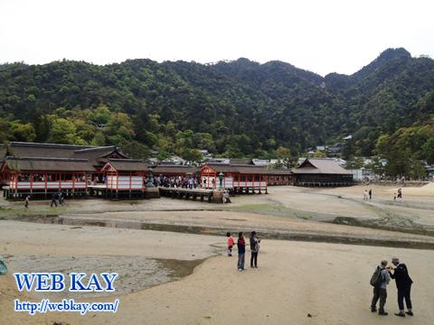 厳島神社 世界文化遺産 宮島 大鳥居