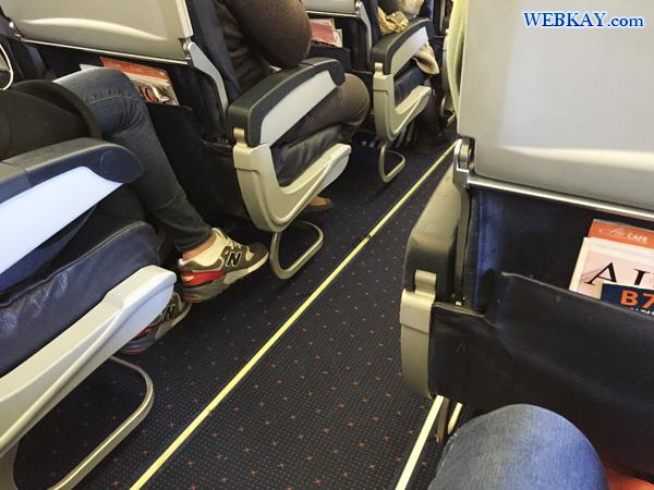座席 広さ チェジュ航空 Jeju airlines  仁川国際空港 成田