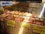 宮島 商店街 宮島にぎり天 骨付フランク アスパラベーコン 食べログ