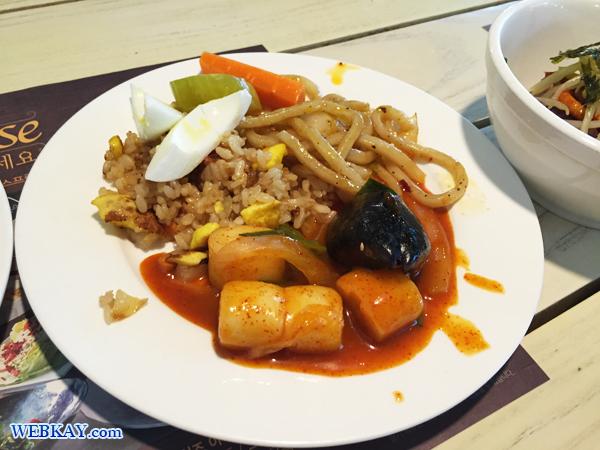 トッポッキ Seven Springs セブンスプリングス  ビュッフェランチ 韓国 食べログ