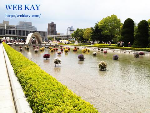 広島平和記念公園 フラワーフェスティバル