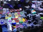 安い靴下 江原道原州(ウォンジュ)の市場でお買い物