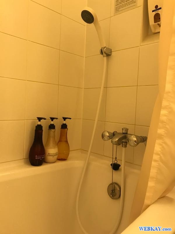 シャワー・バスルーム 部屋 スーペリアツインルーム 札幌プリンスホテル サッポロプリンスホテル 北海道 sapporo prince hotel ホテル 宿泊 口コミ 利用レビュー
