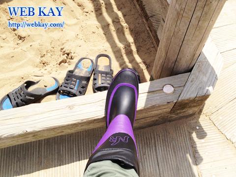 鳥取砂丘 天然記念物 山陰海岸国立公園 日本三大砂丘 長靴