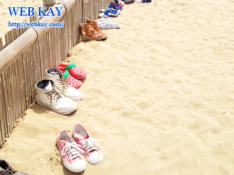 鳥取砂丘 天然記念物 山陰海岸国立公園 日本三大砂丘 裸足になる
