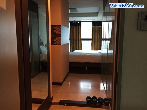 部屋 ホテル 韓国 ソウル Brown Suites Residence ブラウン スイート レジデンス