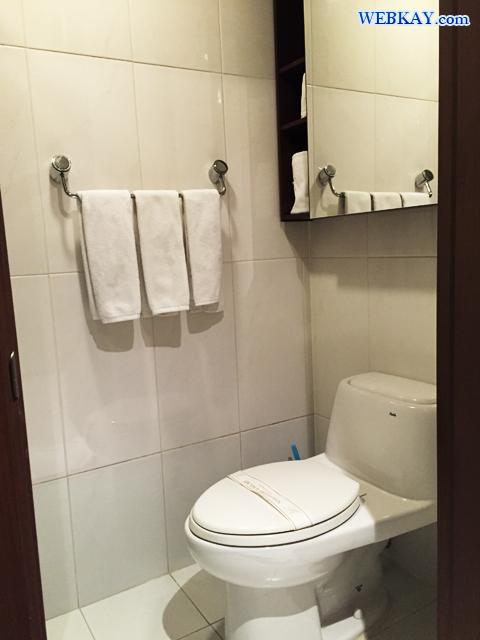 洗面台 トイレ シャワールーム ホテル 韓国 ソウル Brown Suites Residence ブラウン スイート レジデンス