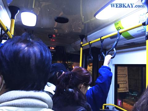 2番バス Nソウルタワー 南山公園 夜景 観光