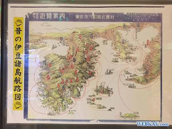 昔の伊豆諸島航路図 東海汽船 さるびあ丸 三宅島 利用レビュー tokaikisen sarubiamaru miyake-island ship