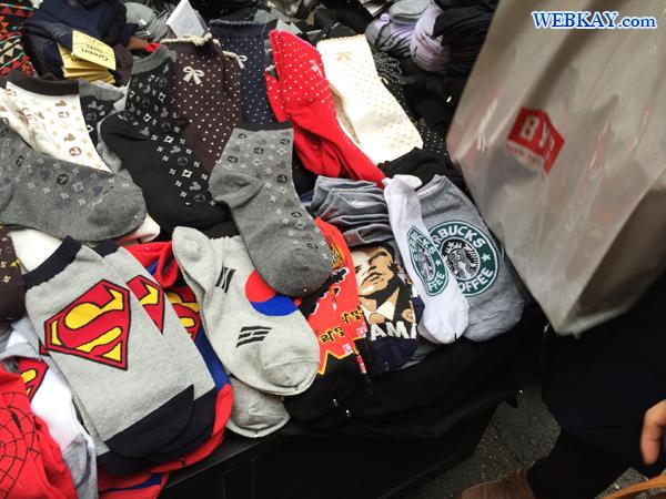 靴下 南大門市場 買い物 観光 ショッピング 韓国旅行記