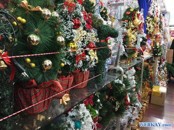クリスマス インテリア 南大門市場 買い物 観光 ショッピング 韓国旅行記