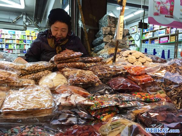ナッツ 南大門市場 買い物 観光 ショッピング 韓国旅行記