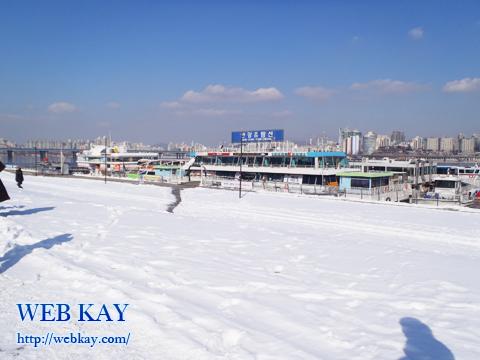 漢江 ハンガン ソウル 遊覧船 観光 ツアー 韓国旅行