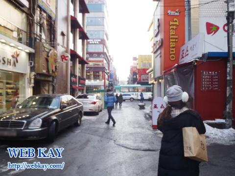 イデ シンチョン 韓国格安ツアー 自由行動 食べログ レビュー