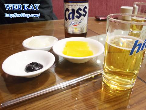 ジャージャーメン 韓国格安ツアー 自由行動 食べログ レビュー