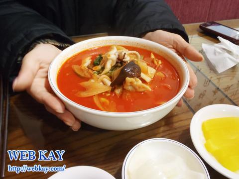 チャンポン 韓国格安ツアー 自由行動 食べログ レビュー