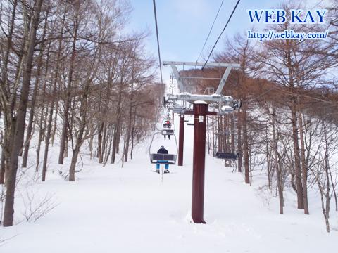 みやぎ蔵王白石スキー場 リフト