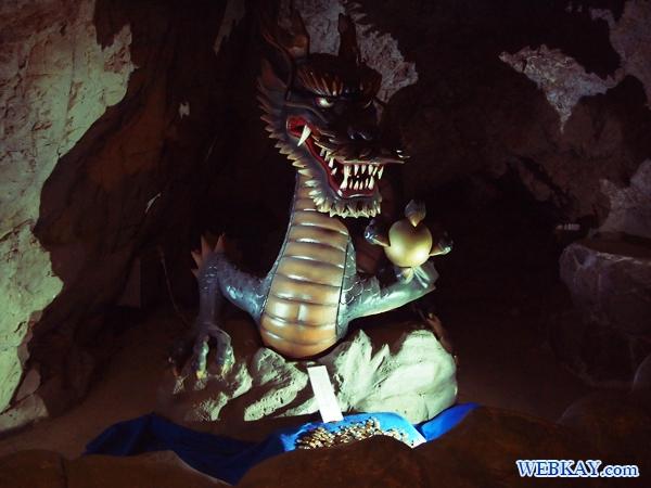 江の島生まれの伝説「天女と五頭龍」 江の島 パワースポット 岩屋 いわや 洞窟 江ノ島観光