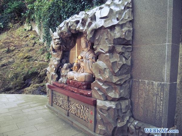 江ノ島神社 龍と女神