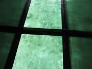 沖縄の久米島 ハテの浜 ガラスボート