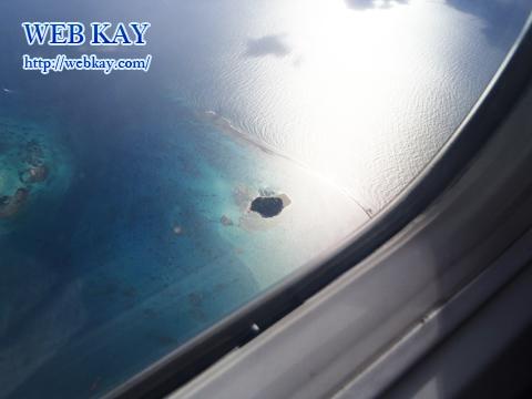 飛行機 マニャガハ島