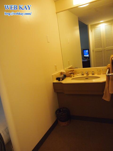 カノアリゾート サイパン ススペ 洗面所