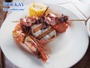 カノアリゾートホテル BBQ バーベキュー ベアフット ビーチバー オンザビーチ