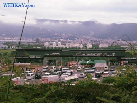 諏訪湖SA サービスエリア(上り線) 中央自動車道路