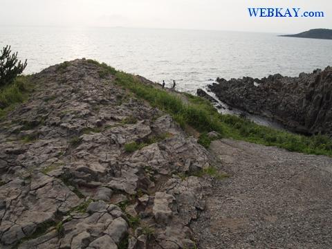 東尋坊 天然記念物 福井県 観光地 自殺の名所 崖