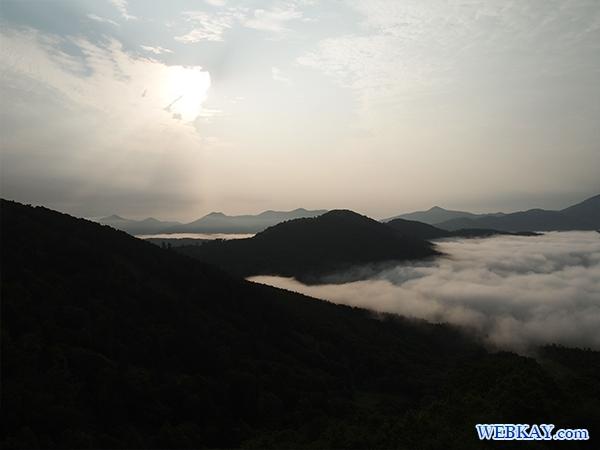 ゴンドラ 星野リゾートトマムの雲海テラス hokkaido tomamu sea of cloud