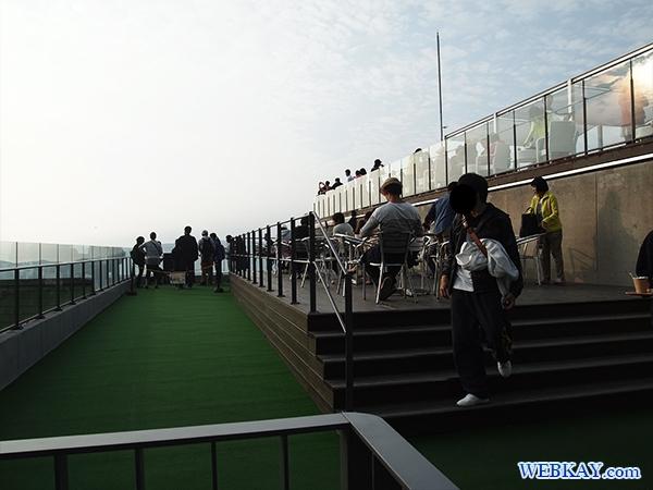 星野リゾートトマムの雲海テラス 北海道 hokkaido tomamu sea of cloud