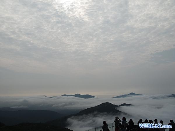 雲のゆうびん屋さん ハガキ 星野リゾートトマムの雲海テラス hokkaido tomamu sea of cloud