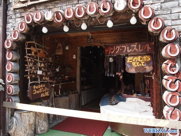 阿寒湖アイヌコタン アイヌ村 マツネシリ民芸店 お土産 手芸品 ainu hokkaido matsuneshiri souvenir