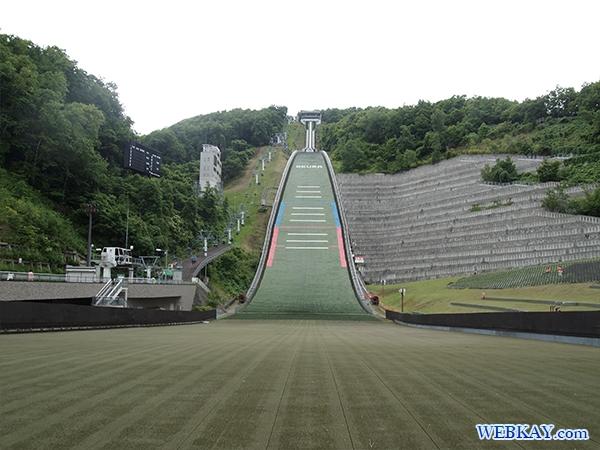 札幌大倉山展望台 スキージャンプリフト 展望 眺め sapporo view