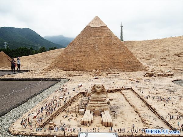 カフラー王のピラミッドとスフィンクス - Khafre's Pyramid & Sphinx -