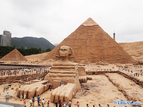 カフラー王のピラミッドとスフィンクス - Khafre's Pyramid ' Sphinx -