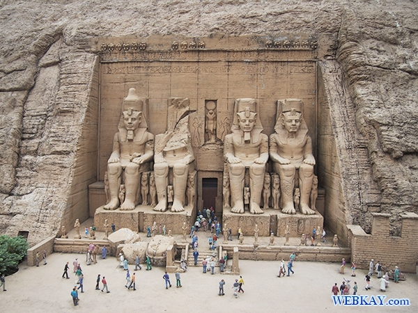 アブ・シンベル大神殿 - The Great Temple of Abusimbel -