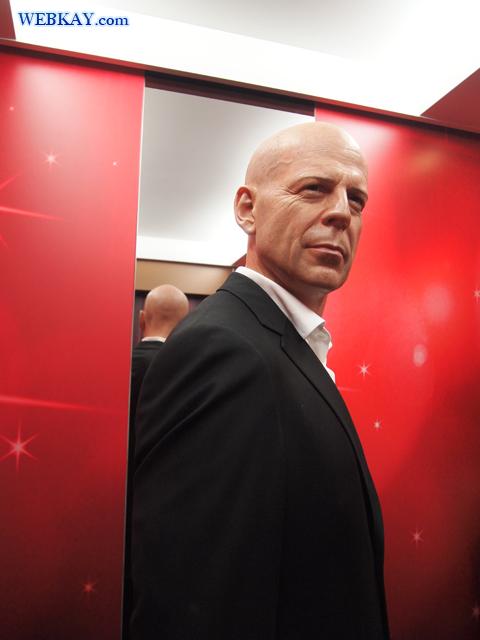 マダム・タッソー館 Madame Tussauds Japan ブルース・ウィリス Walter Bruce Willis
