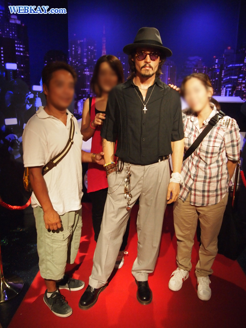 "マダム・タッソー館 Madame Tussauds Japan ジョニー・デップ John Christopher ""Johnny"" Depp II"